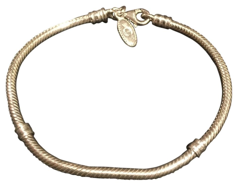 Pandora Sterling Silver With Lobster Clasp Bracelet