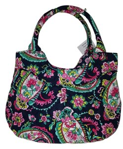 Vera Bradley Open Mouth Closure Tote in Petal Paisley ( multi )