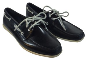 Sperry Topsider Boat Shoe Muckers black Flats