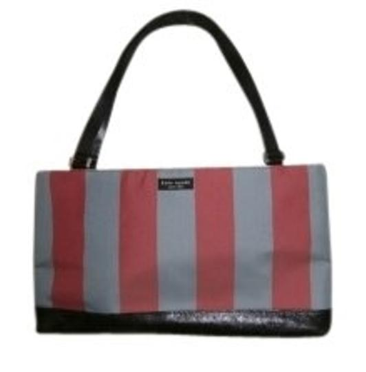 Preload https://item1.tradesy.com/images/kate-spade-blue-and-red-stripes-leather-handles-and-trim-fabric-satchel-12430-0-0.jpg?width=440&height=440