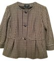 Talbots 100% wool plaid blazer Blazer
