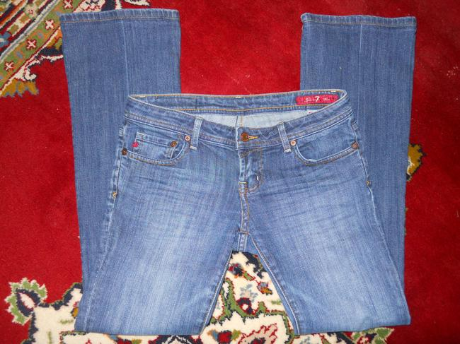 Seven7 Boot Cut Jeans-Medium Wash Image 2