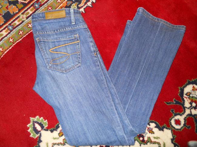 Seven7 Boot Cut Jeans-Medium Wash Image 6
