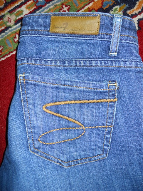 Seven7 Boot Cut Jeans-Medium Wash Image 7