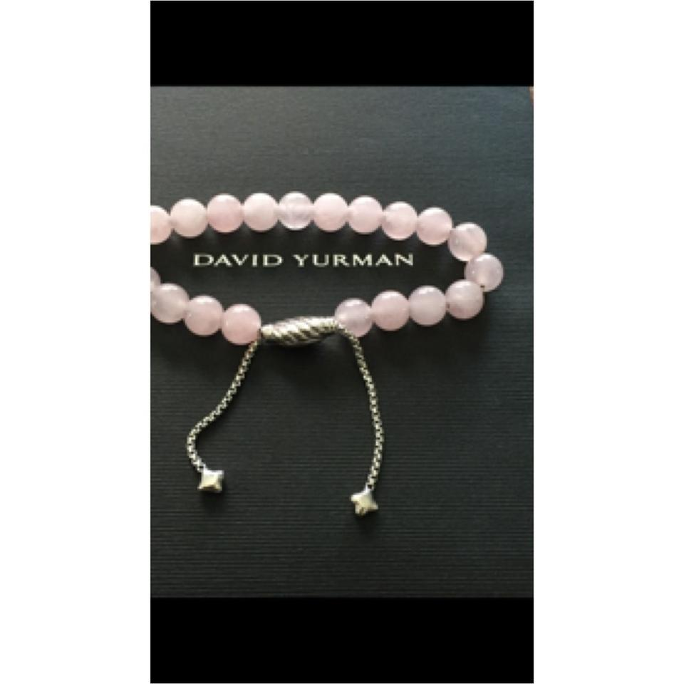 David Yurman Adjule Spiritual Bead Bracelet With Rose Quartz 12345