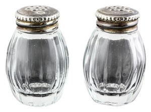 Christofle Christofle Orfevre Salt and Pepper container