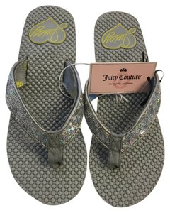 Juicy Couture Grey Sandals