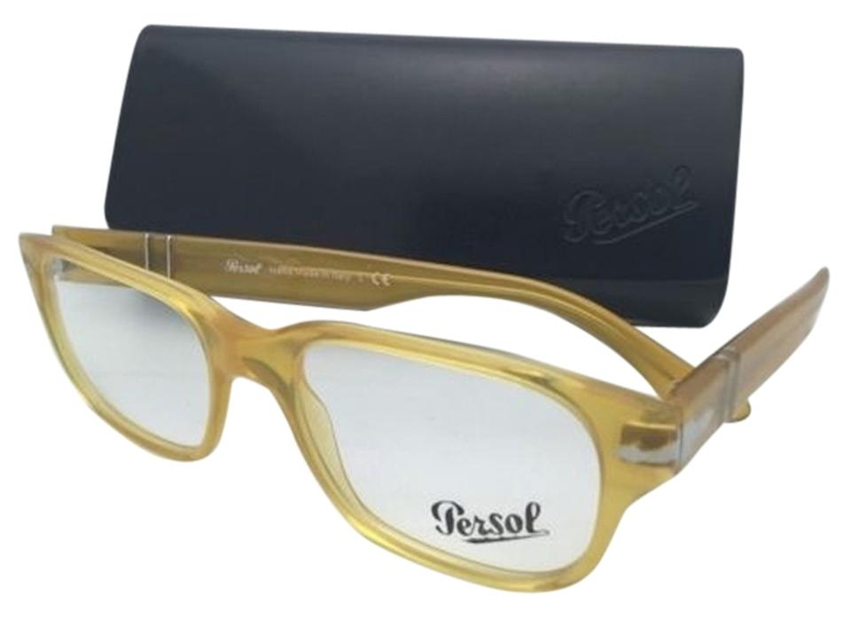 Persol 3077-v 204 52-18 Miele Honey Yellow Frames W/Clear Rx-able ...