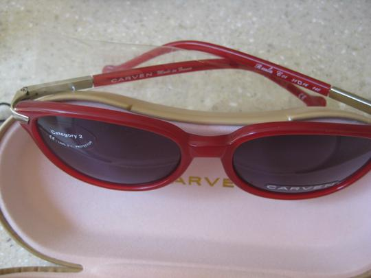Carven Carven, Rosalie, Red Gum Sunglasses