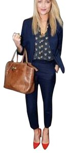 Banana Republic AWESOME! BR -Navy Cropped Suit - pants and blazer