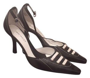 Nine West Black and White Pumps