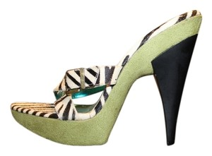 Michael Antonio Green, Zebra Pattern Sandals