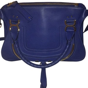 Chloé Satchel in Royal navy