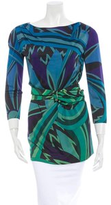 Emilio Pucci Belted Tunic