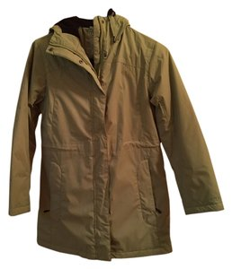 L.L.Bean Hooded Green Jacket
