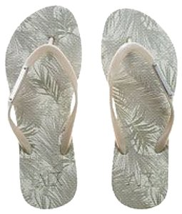 A|X Armani Exchange Metallic Sandals