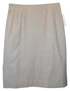 Signature by Larry Levine Signature by Larry Levine gray w/pinstripes suit skirt, size 8P