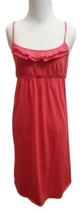 Ann Taylor LOFT short dress coral New W Tags on Tradesy