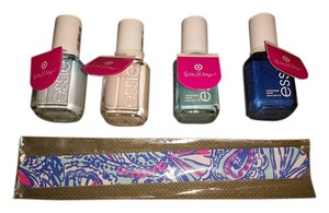 Lilly Pulitzer NWT Lilly Pulitzer Essie Nail Polish And File