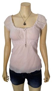 Guess Size Small Cap Sleeves P1956 Top White