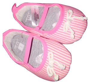 Carter's Pink and white stripes Flats