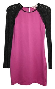 Juicy Couture Stretchy Lace Longsleeve Dress