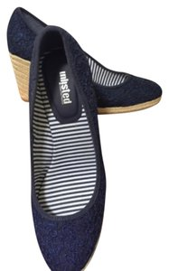 Unlisted by Kenneth Cole Blue Wedges
