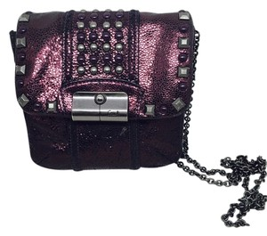 Coach Studded Leather Cross Body Bag