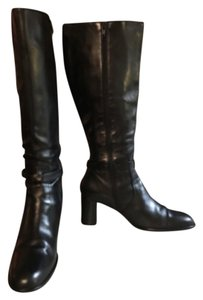J.Crew Black Leather Boots