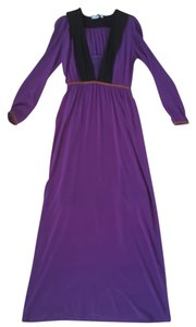 Purple Maxi Dress by Prada
