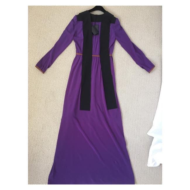Purple Maxi Dress by Prada Image 10