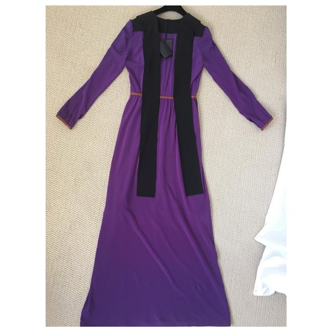 Purple Maxi Dress by Prada Image 11