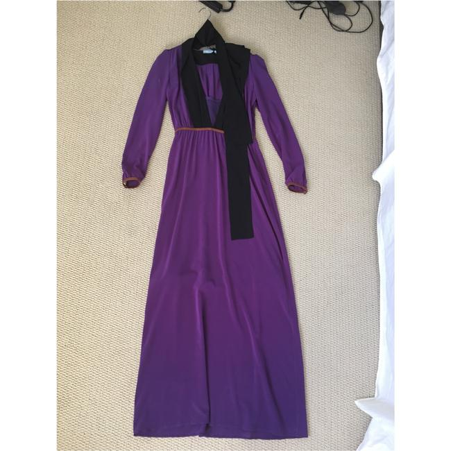 Purple Maxi Dress by Prada Image 3