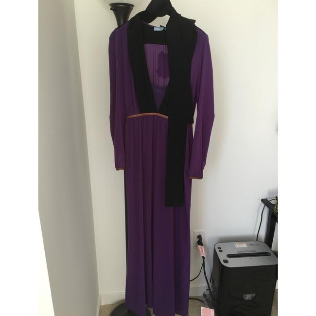 Purple Maxi Dress by Prada Image 4
