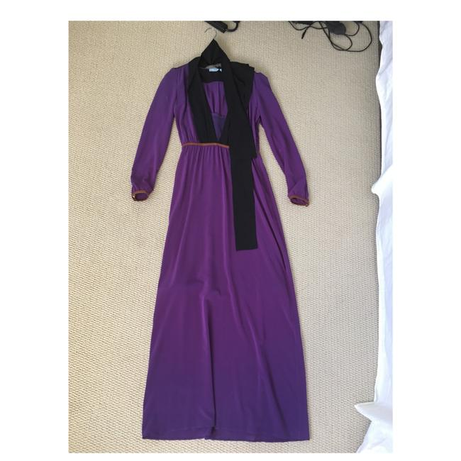 Purple Maxi Dress by Prada Image 5