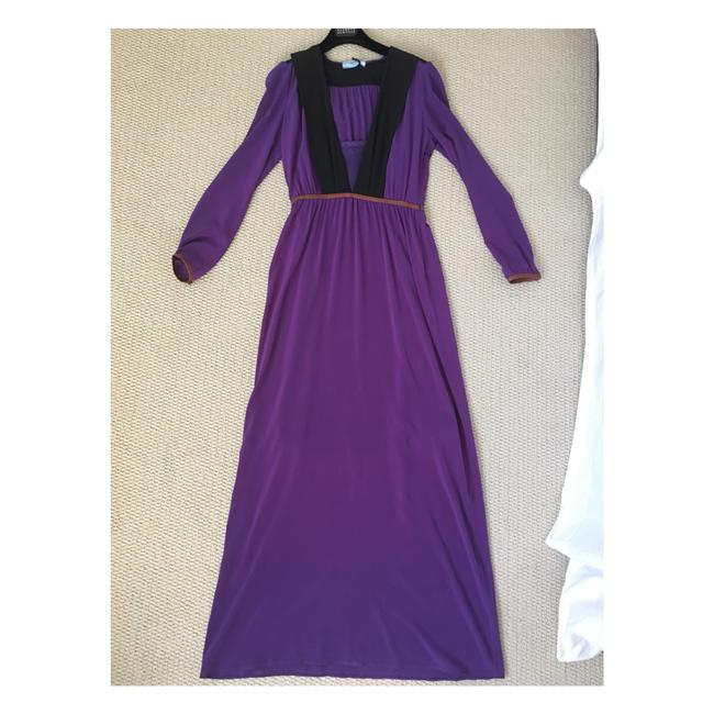 Purple Maxi Dress by Prada Image 7