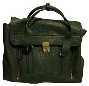3.1 Phillip Lim Satchel in Jade Green