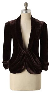Anthropologie Elevenses Brown Blazer