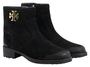 Tory Burch Eloise Flat Bootie Black Boots