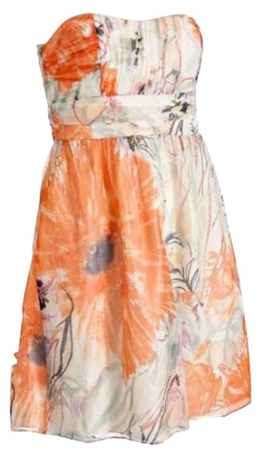 Preload https://item5.tradesy.com/images/campaigne-orangenavysagered-floral-chiffon-emilia-strapless-above-knee-short-casual-dress-size-2-xs-1244-0-1.jpg?width=400&height=650