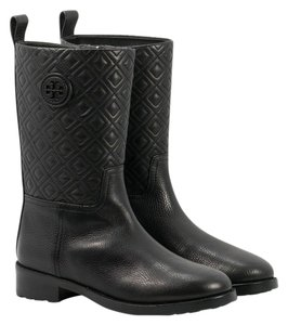 Tory Burch Marion Bootie Black Boots