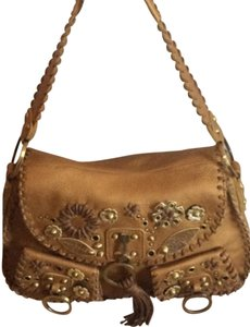 Rafe Front Hanging Tassel Shoulder Bag