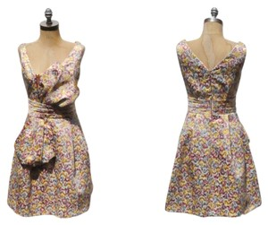 Zac Posen for Target Floral Flowers Bow Dress