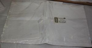 Ivory Placemat and Napkin Set Other