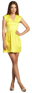 French Connection short dress Yellow Classic Sexy Tailored Sold Out Rare on Tradesy