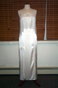 Edward Cromarty Art Design Studio White Hyacinth Wedding Dress