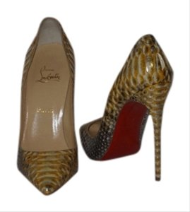 Christian Louboutin Brand New In Box PYTHON Pumps