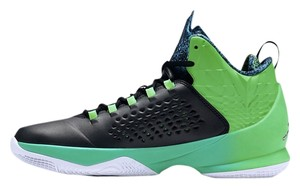 Nike Sneaker Green Sneaker Saint Patrick's Day Basketball Hightops Athletic
