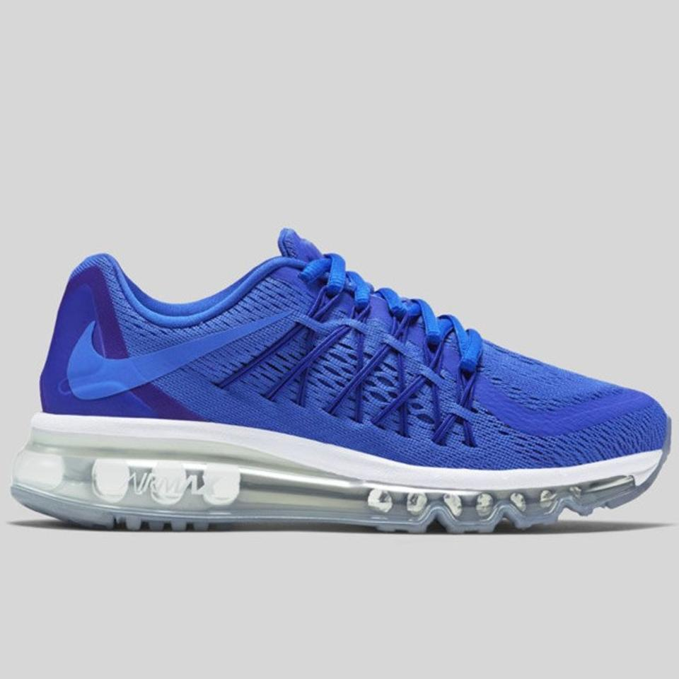 Nike Game Royal Youth Air Max 2015 (Gs) RoyalBlack white blue Lagoon Sneakers Size US 6 Regular (M, B) 50% off retail