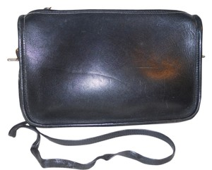 First Issue Vintage Leather Cross Body Bag
